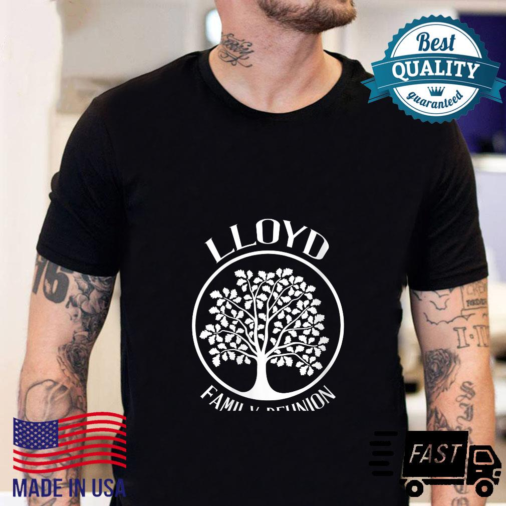 Womens Lloyd Family Reunion For All Tree With Strong Roots Shirt sweater